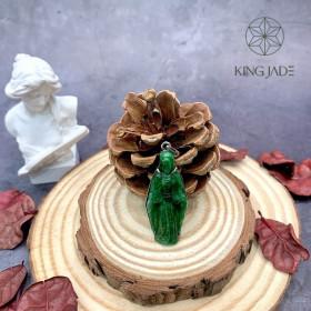 Mặt Thánh Bọc Vàng King Jade 006